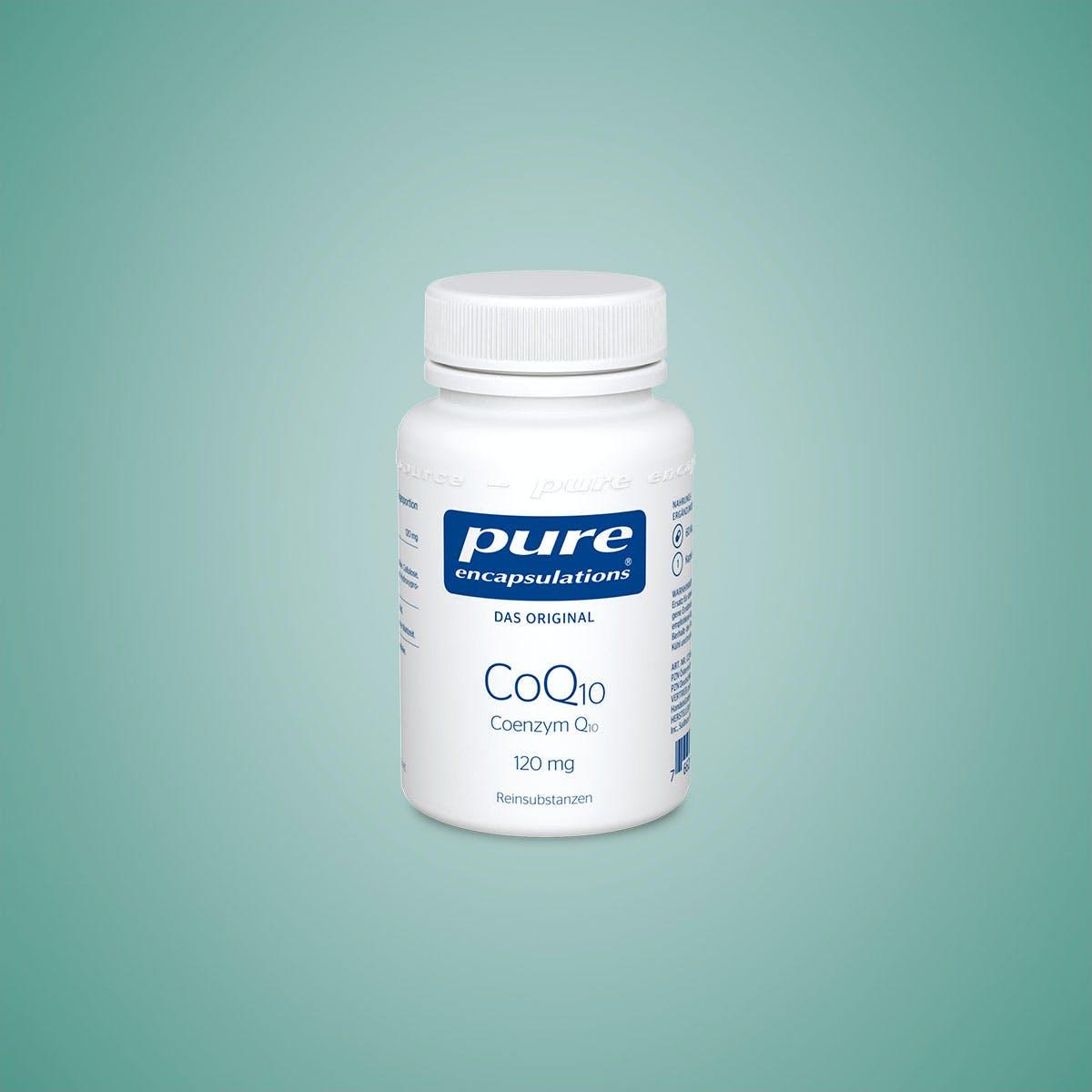 Hochwertiges Coenzym Q10 in Kapselform von Pure Encapsulations