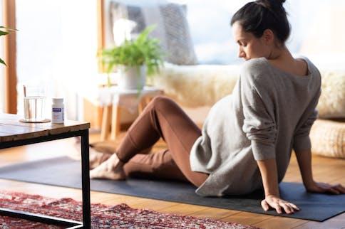 Um die Schwangerschaft auch genießen zu können, soll man sich viel Ruhe und Zeit nehmen.