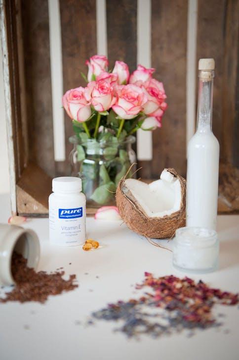 Feuchtigkeitsspendende Lotion mit Kokosmilch