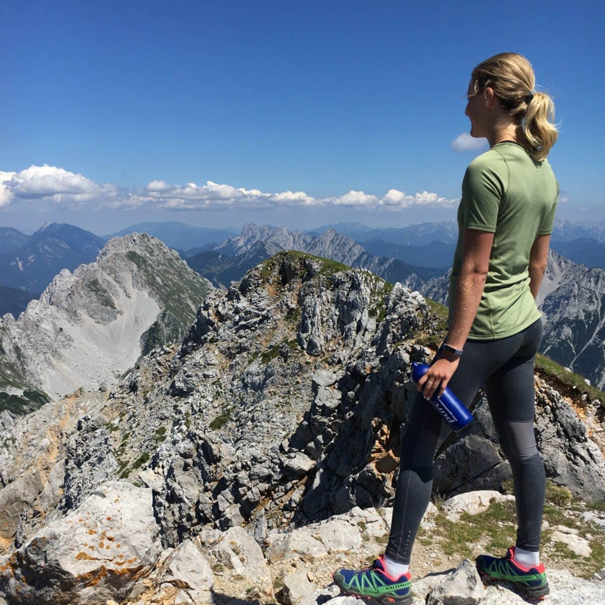 Carina Pölzl auf Heimaturlaub in Kärnten
