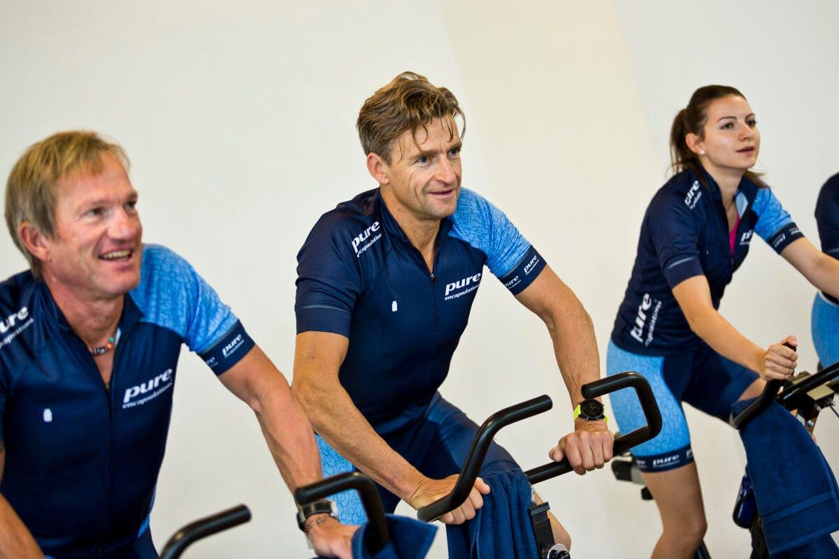 Erwin Huss - Triathlon - Der Pure Athlet beim Training