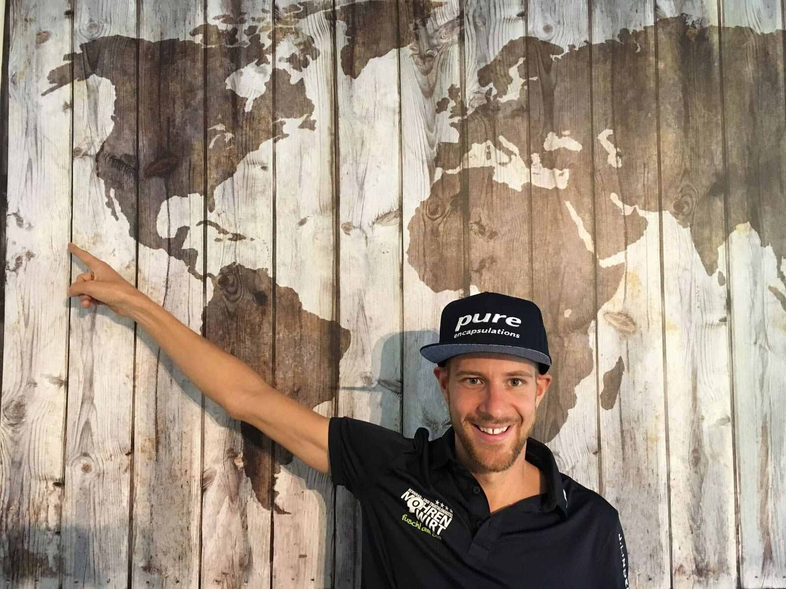 Pure Athlet Marc Duelsen ist bereit für den Ironman Hawaii.