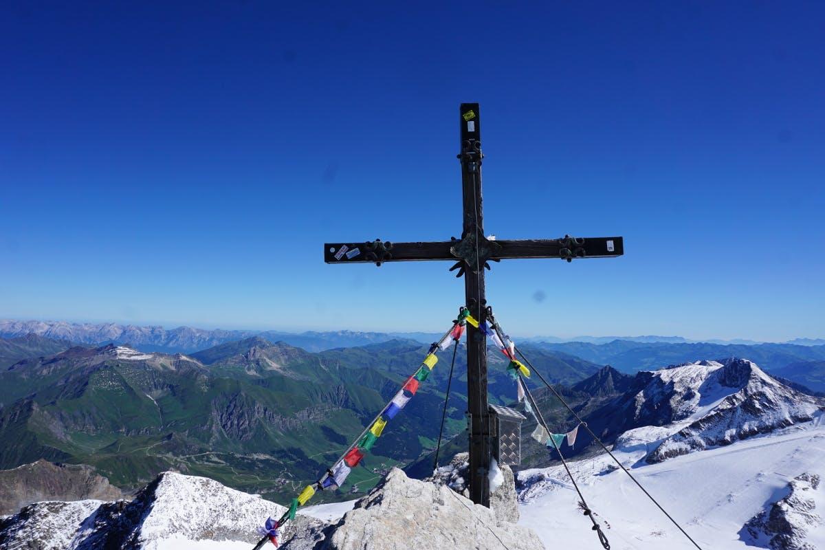 Gipfel-Panorama vom Olperer in Tirol