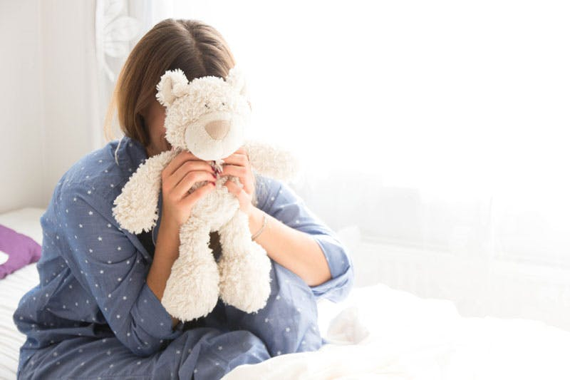 Wenn nichts mehr geht, dann steht uns unser Teddybär bei schlaflosen Nächten zur Seite.