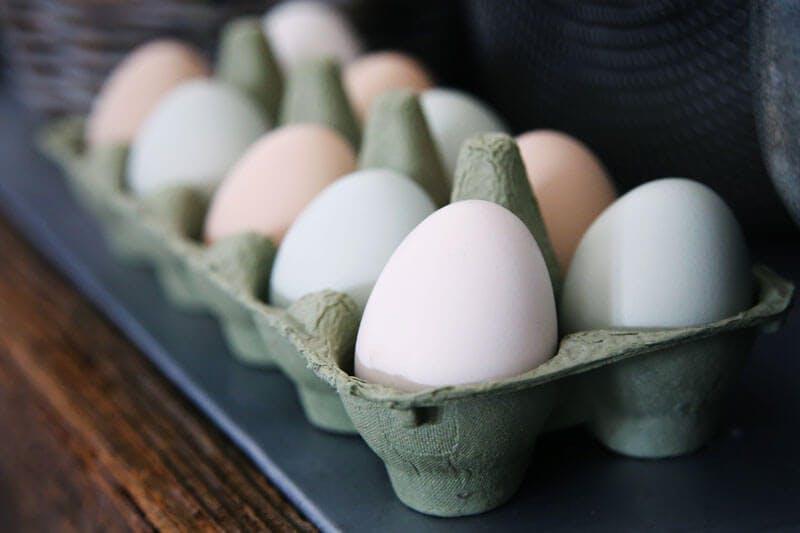 Eier als tierische Proteinquelle sind reich an L-Lysin.