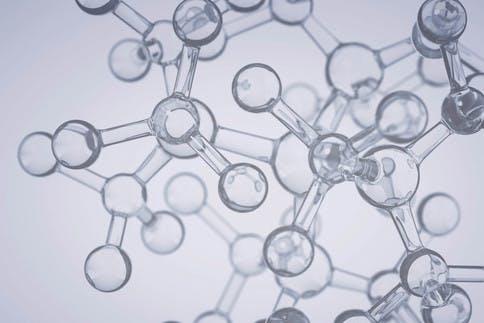 Grafik von Molekülen