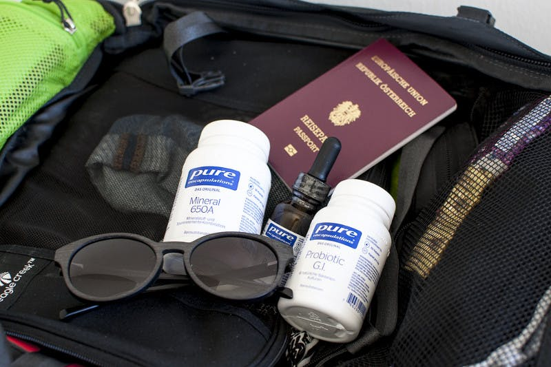 Gut versorgt auf Reisen mit ausgewählten Mikronährstoffen