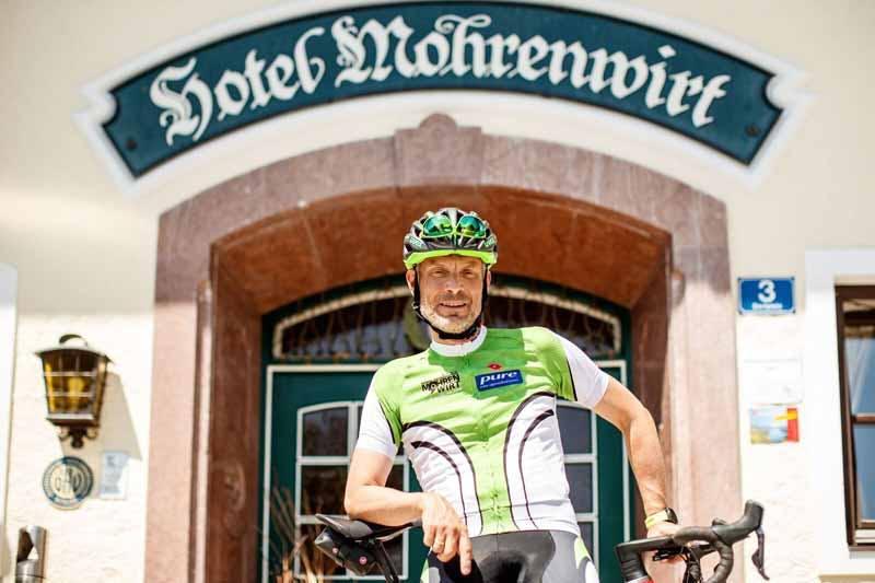 Jakob Schmidlecher ist Kapitän des Pro Team Mohrenwirth und als Pure-Athlet beim Ironman in Hawaii dabei.