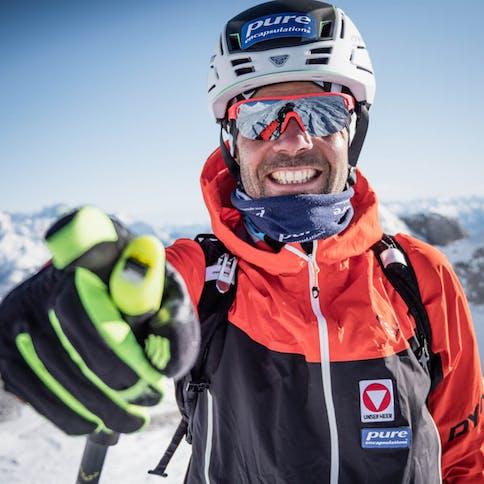 Skibergsteiger Jakob Hermann