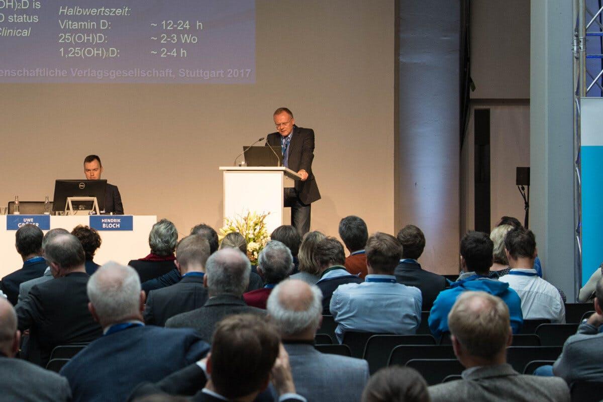 Uwe Gröber bei einer Veranstaltung