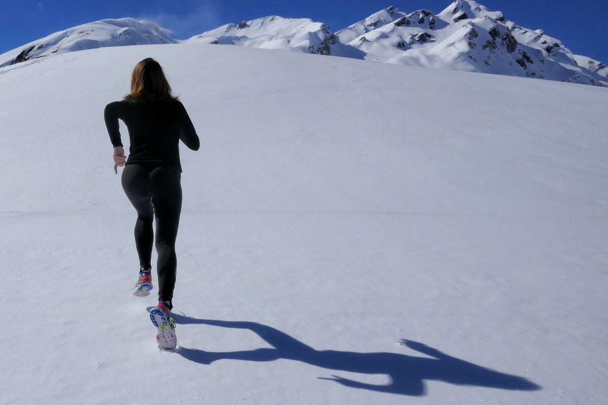 Lauftraining im Schnee kann gefährlich sein