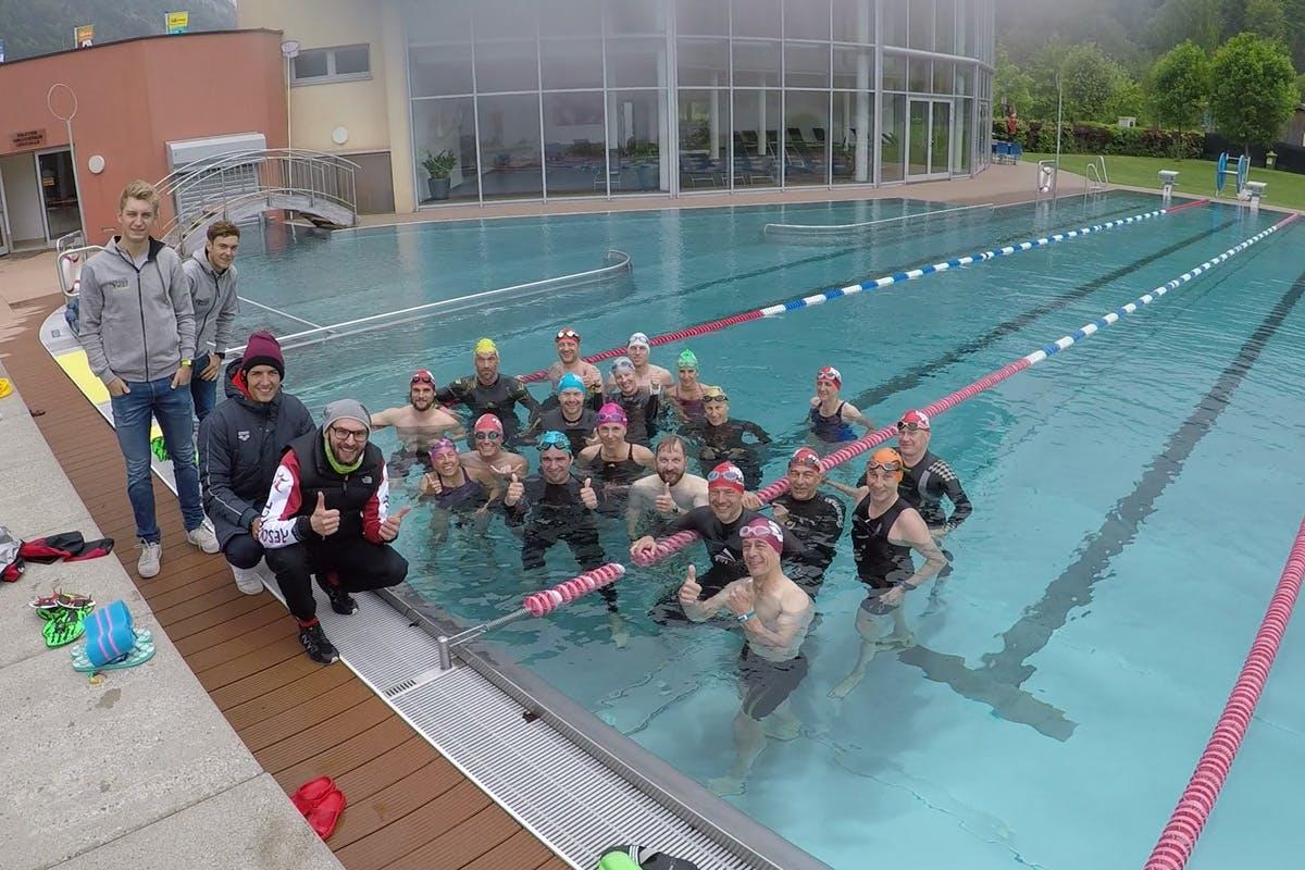Triathlon Camp Tagebuch Schwimmgruppe