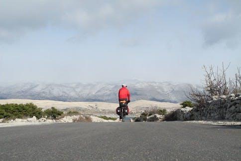 Mit dem Fahrrad lassen sich in Koratien noch richtige Abenteuer erleben