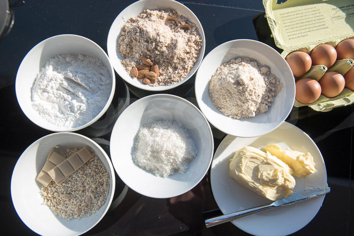 Zutaten für eine leckere Kokostorte