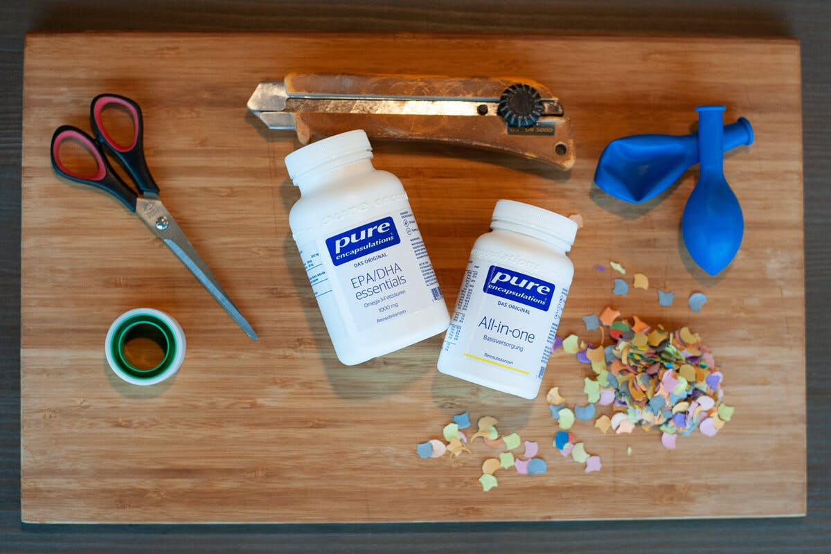 Pure Bottle Upcycling: Party Popper