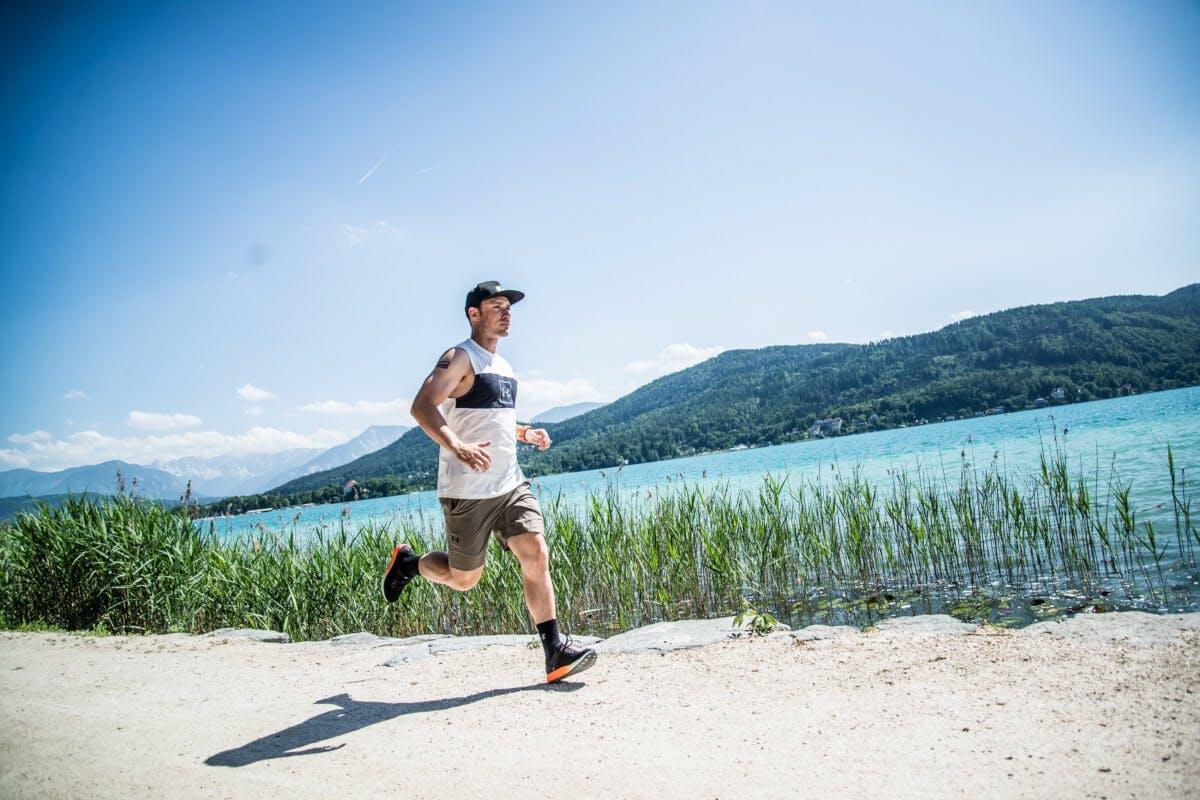 Alexander Payer beim Laufen