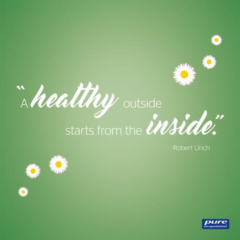 Der Darm ist die Wiege unserer Gesundheit.