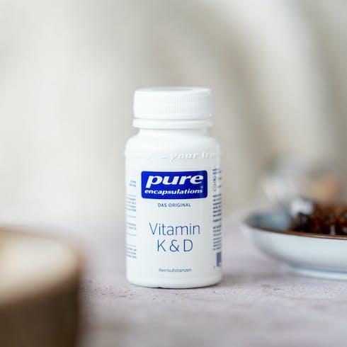 Vitamin K & D von Pure Encapsulations®