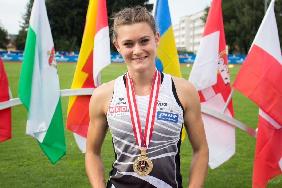 Alexandra Toth - Leichtathletik - Die Pure Athletin gewinnt bei der Staatsmeisterschaft 2018