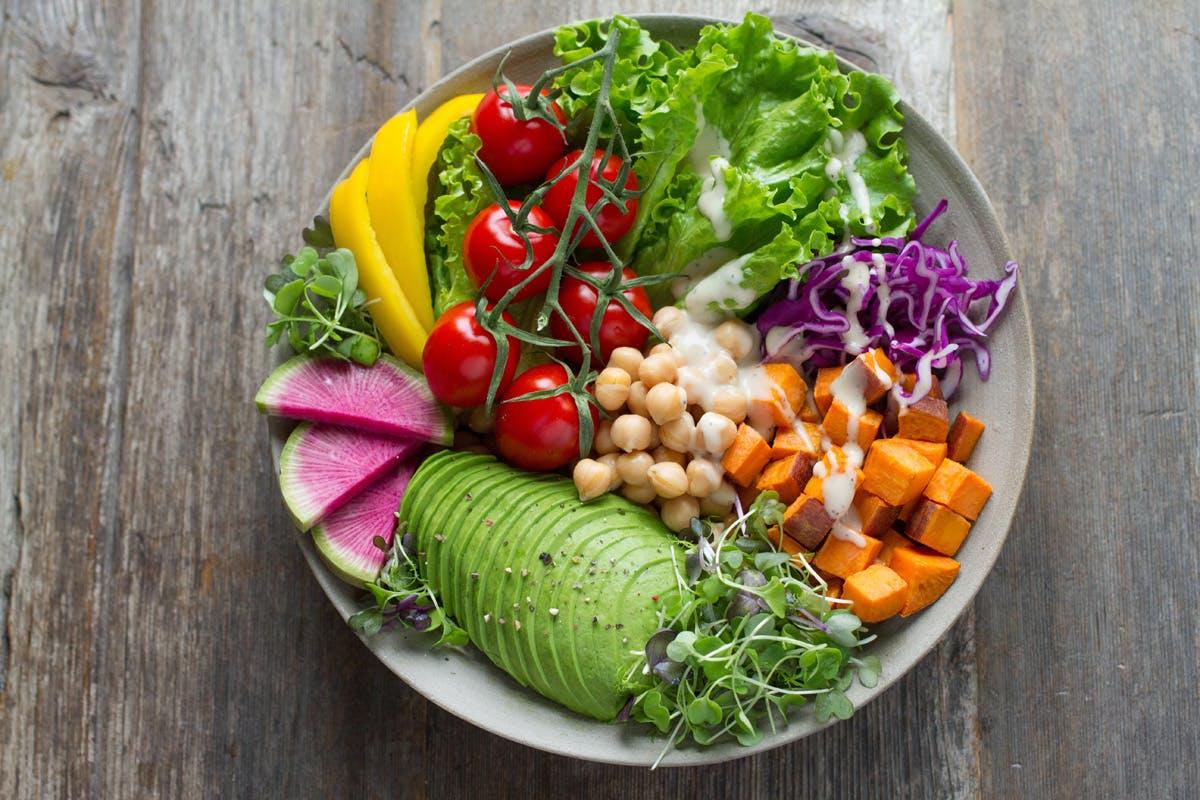 Frisches Lebensmittel haben mehr Vitamine