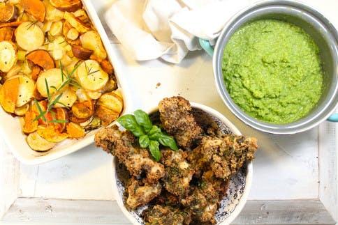 Rezept für ein abswechslungsreiches Gericht, optimal für Nahrungsmittelintoleranzen