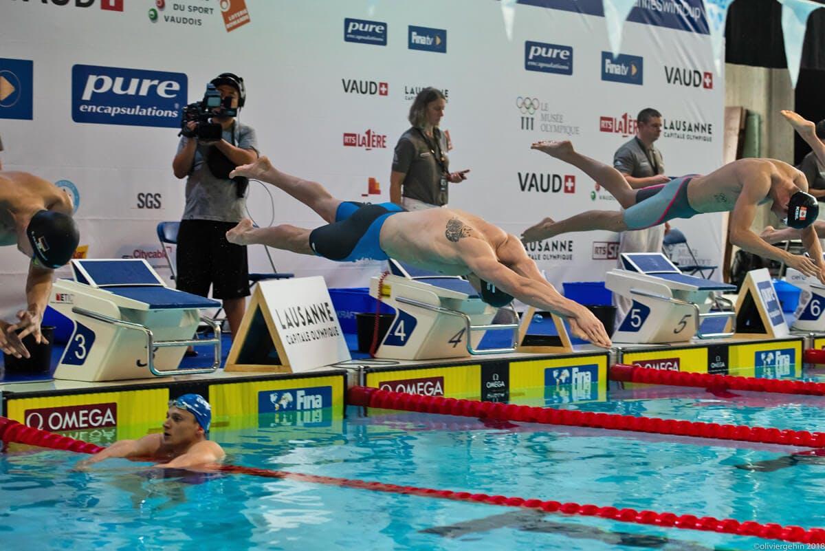 Das war der Lausanne Swim Cup