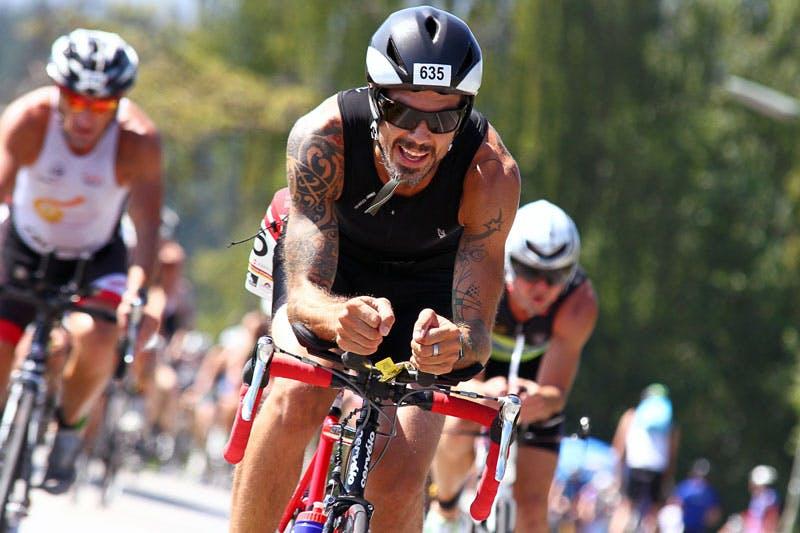 Christoph Grün ist begeisterter Triathlet.