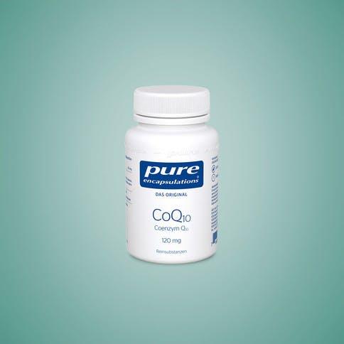 Pure Encapsulations bietet Coenzym Q10 in Kapseln.