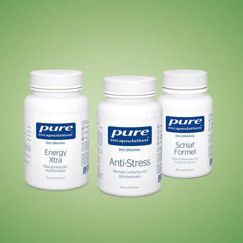 Mikronährstoffe für hektische Zeiten: Anti-Stress für mentale Leistung und Wohlbefinden, Energy Xtra Pflanzenextraktkombination, Schlaf Formel Nährstoffkomplex für Psyche & Nerven