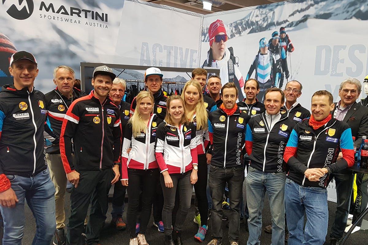 Die österreichische Nationalmannschaft Skibergsteigen ist in allen Disziplinen des Wettkamps präsent