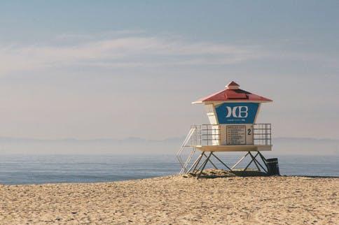 Am Meer bekommt die Haut oft besonders viel UV-Strahlung ab