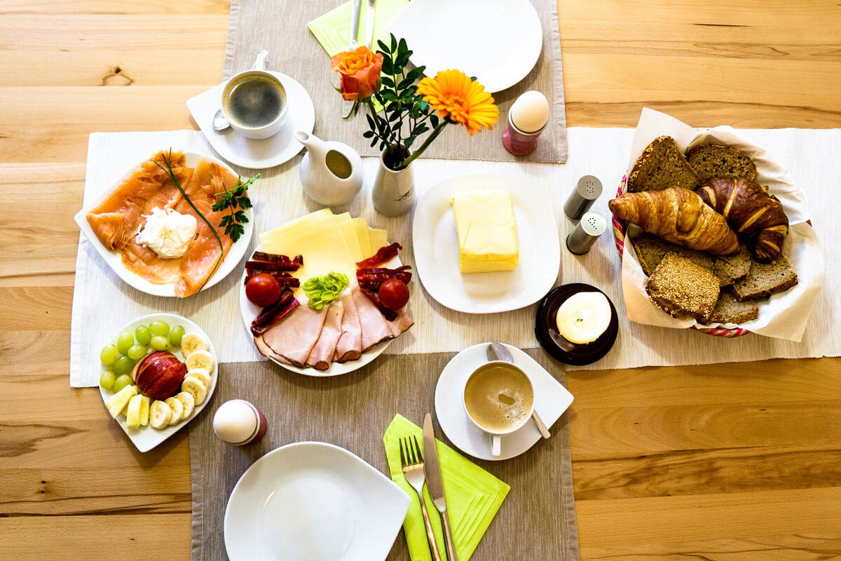 Ein gutes Frühstück macht einen guten Tag
