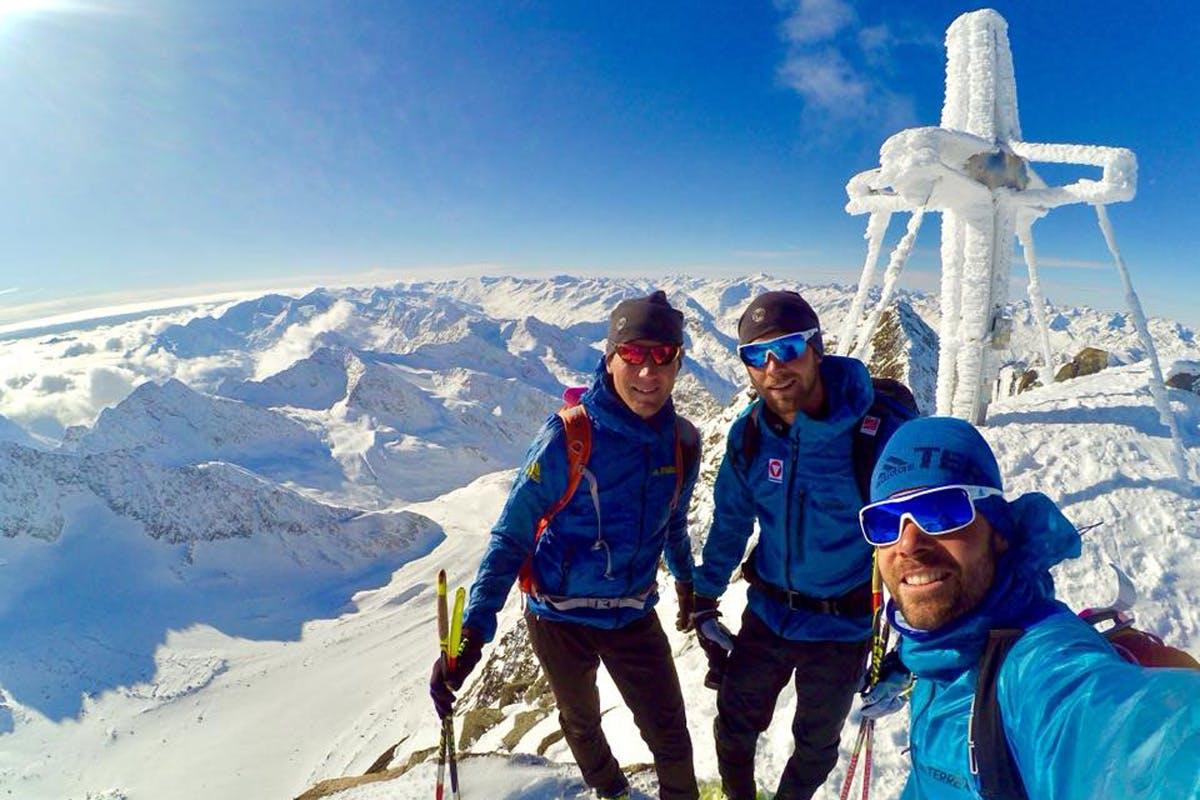 Netter Nebeneffekt beim Training für das Skibergsteigen: die Aussicht