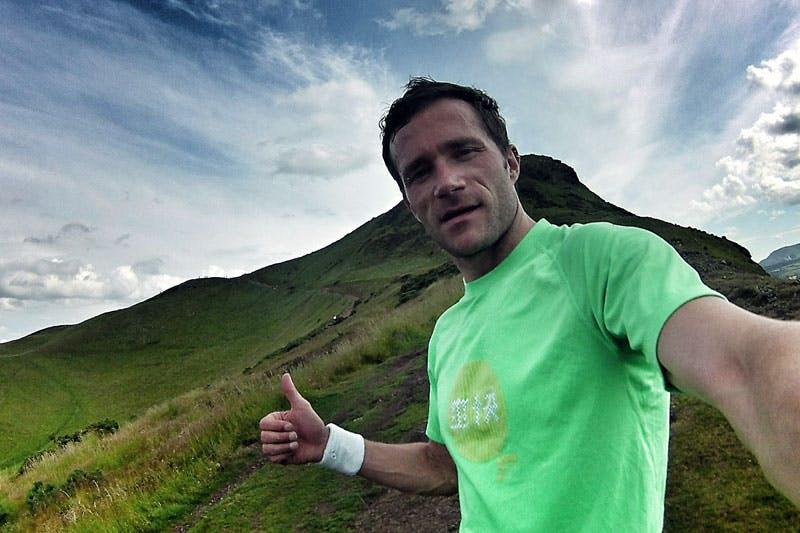 Beim Trailrunning in Schottland fuehrt der Weg auch nach Arthur's Seat.