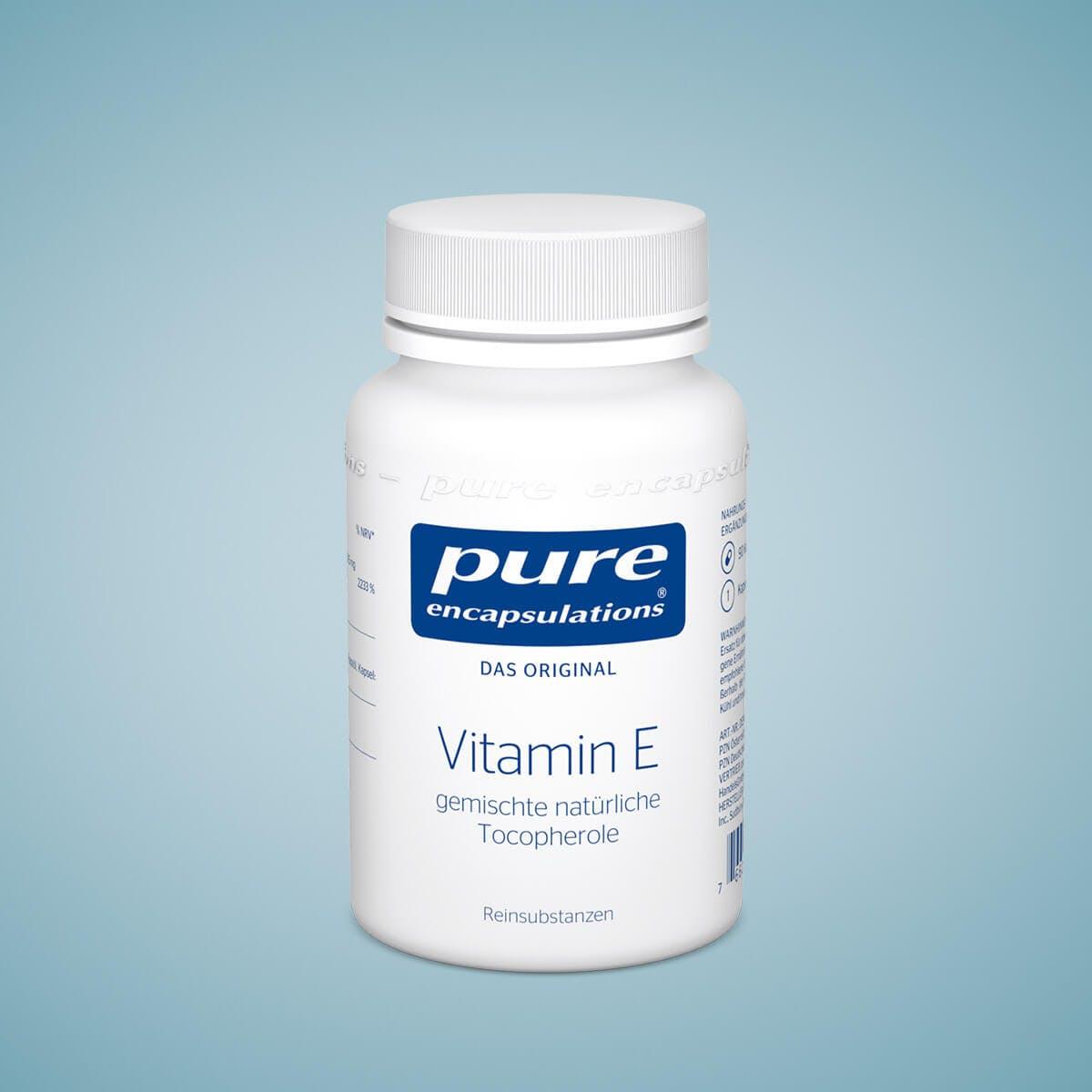 Vitamin E Kapseln von Pure Encapsulations