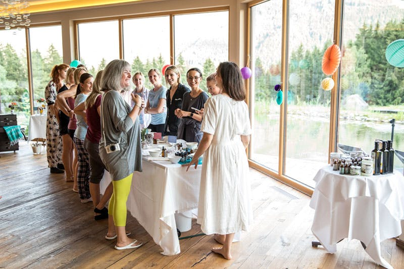 Naturkosmetik-Workshop mit Anita von The Glow