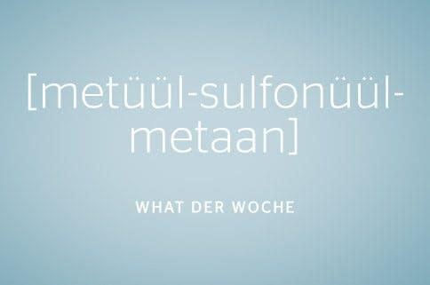 methyl-sulfonyl-methan