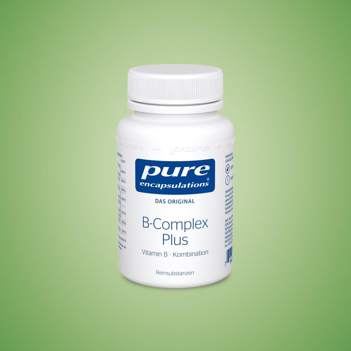 B-Vitamine: Nahrungsergänzung mit allen 8 B-Vitaminen