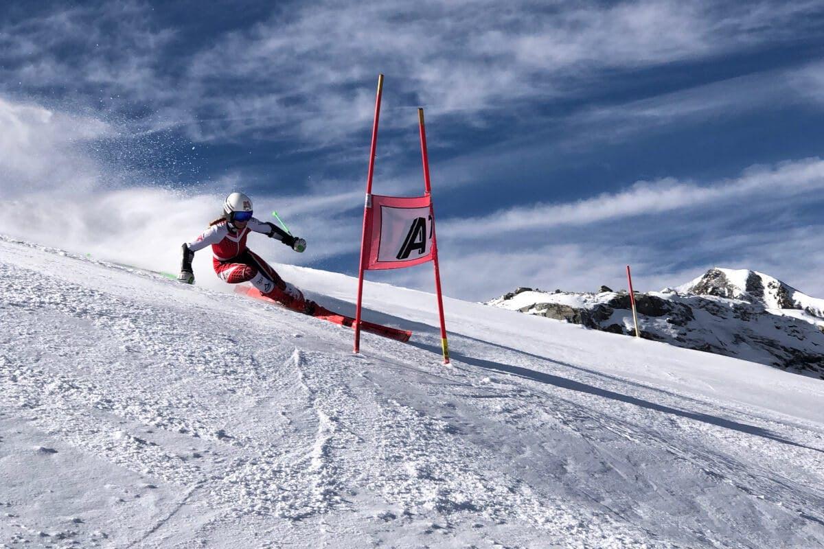 Melanie Arrer, Ski Alpin Atheltin, Abfahrt