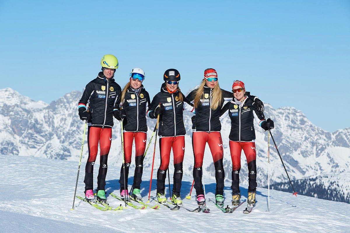 Die Frauen des Teams Skibergsteigen sind bei Wettkämpfen sehr erfolgreich