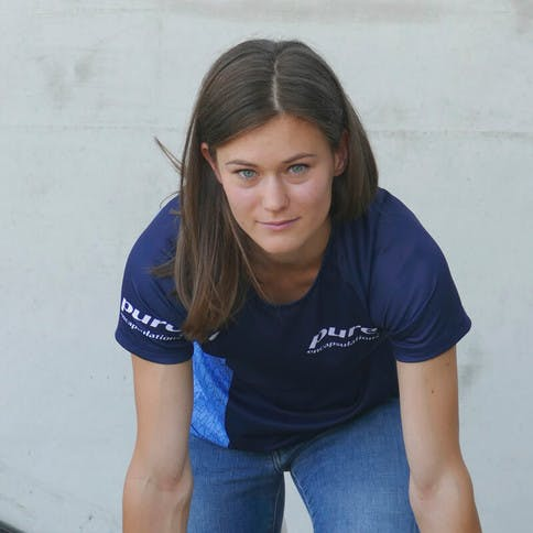 Alexandra Toth - Leichtathletik - Pure Athletin