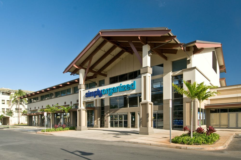Exterior photo of Simply Organized at Crossroads at Kapolei Shopping Center