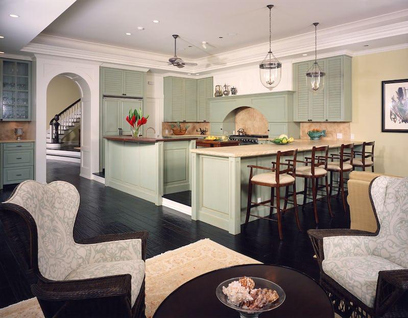 Interior kitchen.