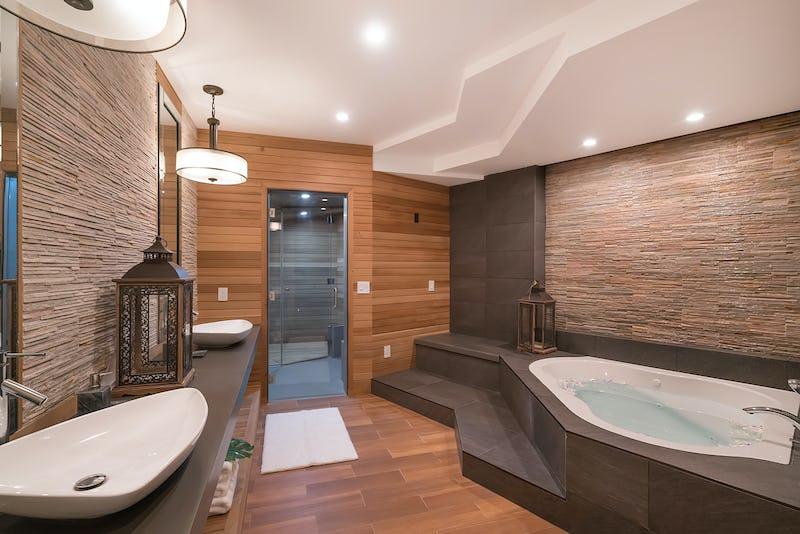 Bathroom of residence.