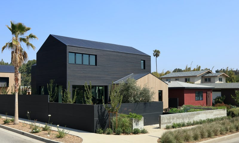 Exterior photo of house with landscaping