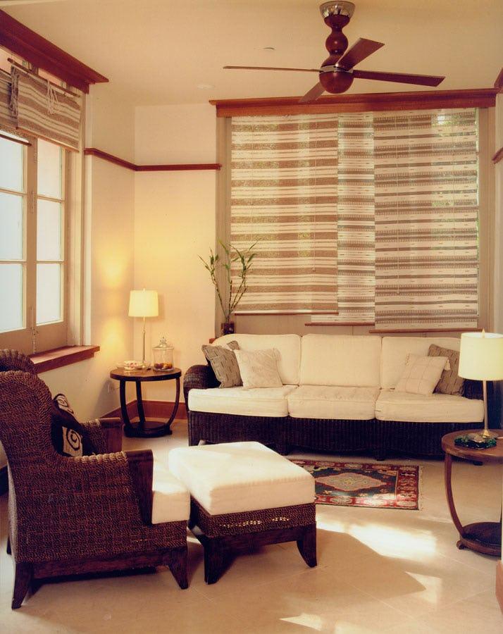 Couch and chair Abhasa Spa at the Royal Hawaiian Hotel