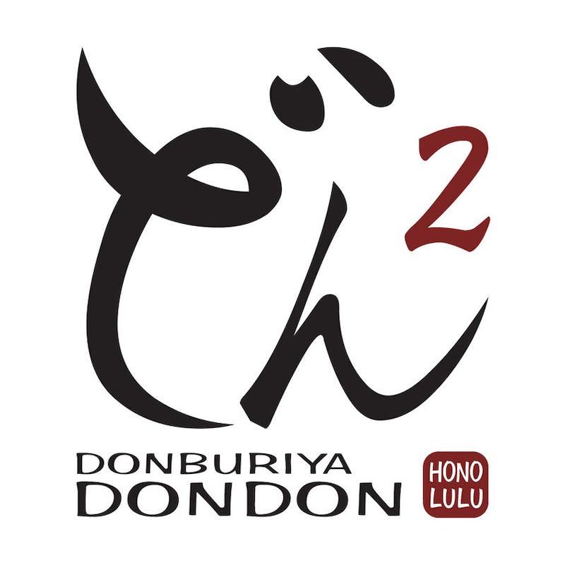 Dondon logo reading,