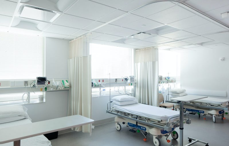 Patient area.