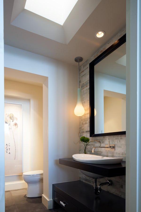 Bathroom amenities.