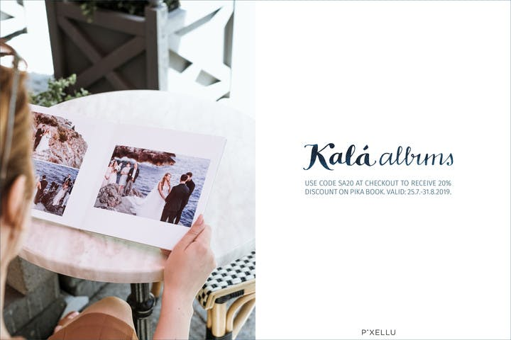 20% off all Pika Photo Albums with Kalá Albums and SmartAlbums 2019